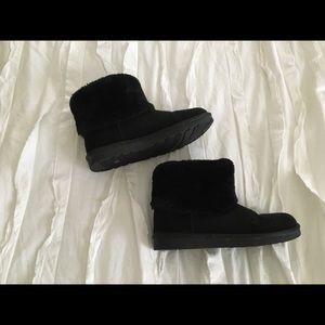 Warm fuzzy boots!